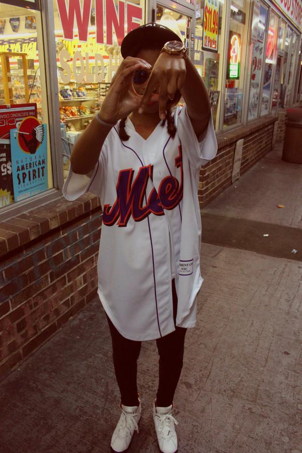 blouse baseball jersey jersey Californication fashion