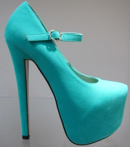 New Faux Leather Mary Jane Stiletto Heel Hidden Platform Almond Toe Pump Shoe | eBay
