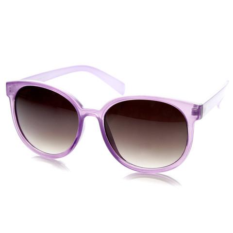 Summer Retro 2 Tone Colorful P3 Round Sunglasses 9103                             zeroUV