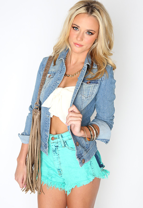 Right Direction Jean Jacket