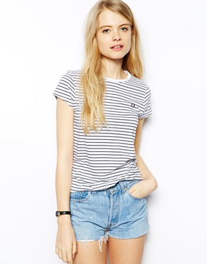 Fred Perry | Fred Perry Striped T-Shirt at ASOS