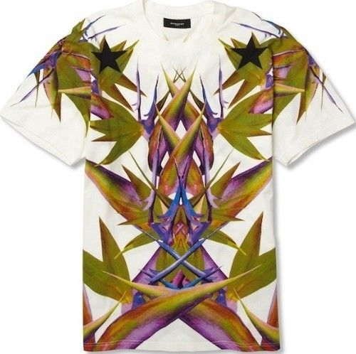 """Deadstock Auth Givenchy """" Bird of Paradise"""" Tee T Shirt Extremely RARE 