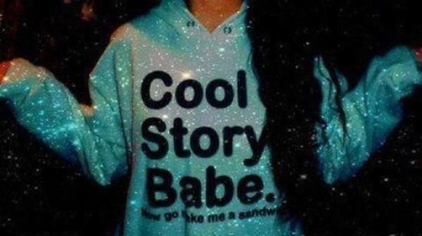 sweater coolstuff light blue