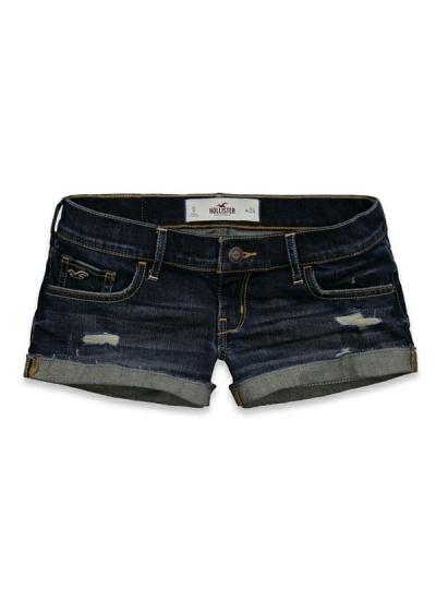 Hollister 'Bolsa Chica' Jeans-Shorts - iShopStyle