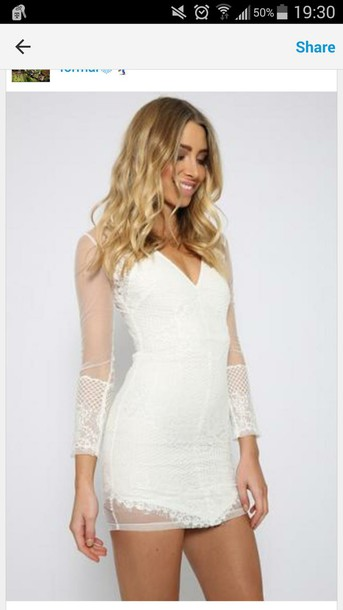 dress white dress see through dress white lace dress lace dress