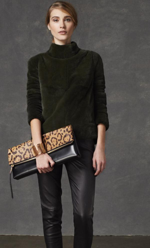 bag coach lookbook fashion sweater pants jewels