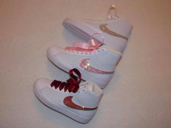 shoes crystal trainers swarovski bling