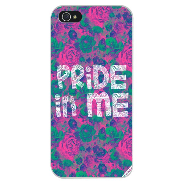 Pride In Me Print Plastic Snap-on Back Cover Case For IPhone on Luulla