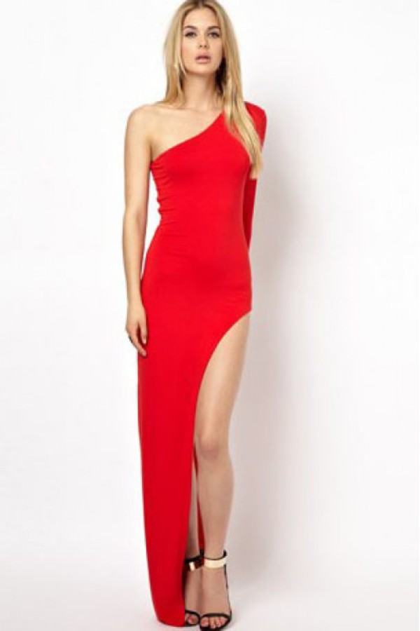dress kcloth maxi dress party dress black sexy dress one piece dress kcloth dress red party dress red prom dress slit prom dress