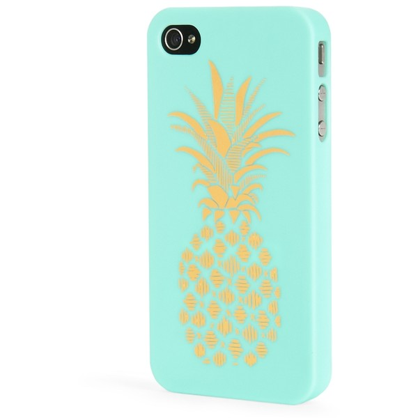 Aeropostale LLD Pineapple iPhone® 4/4S Case - Aéropostale - Polyvore