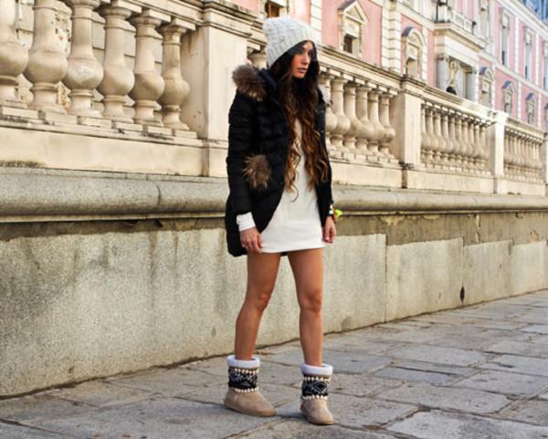 madame rosa dress coat hat shoes