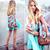 ROMWE | Pumpum Lower Light Blue Skirt, The Latest Street Fashion