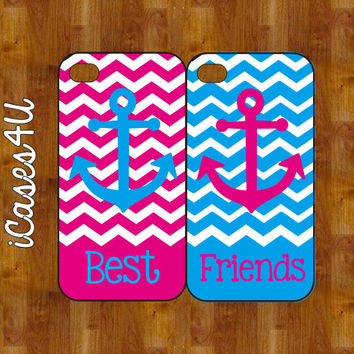 BFF iPhone cases - Personalized iPhone case - iPhone 4s case - iPhone 5 case - plastic or rubber - Anchor iPhone case on Wanelo