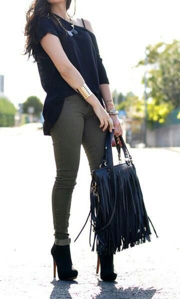 jeans olive jeans