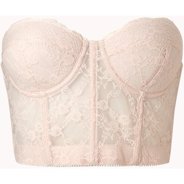 shirt bustier white lace