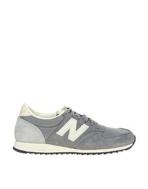 New Balance | New Balance 420 Gray Vintage Sneakers at ASOS