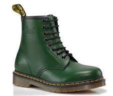 Dr Martens 1460 Green Smooth (N104) Unisex Size 5 -12 | eBay