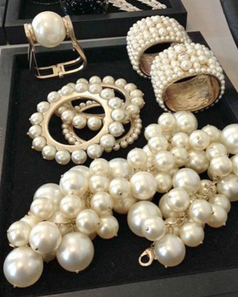 jewels pearl jewelry spring