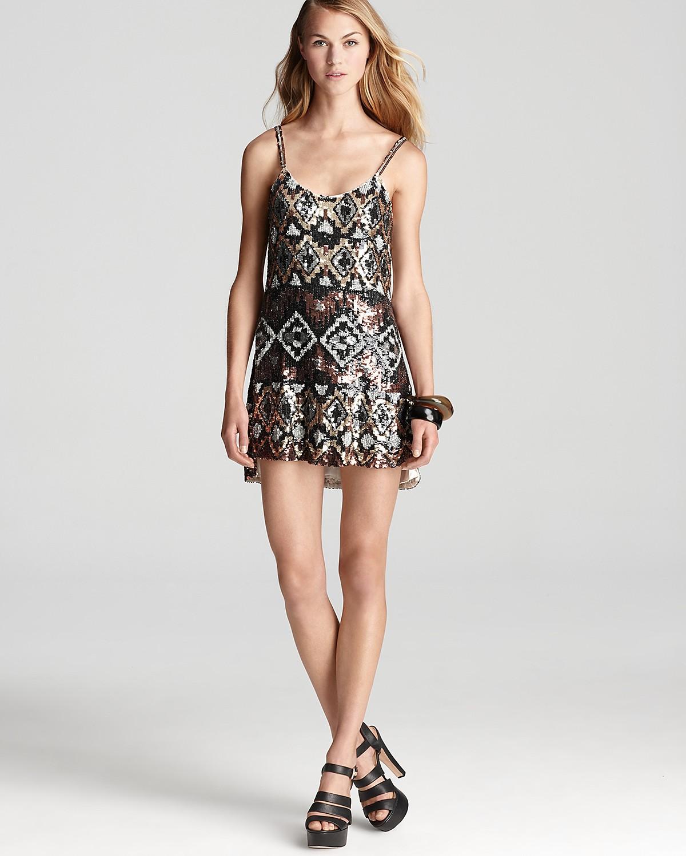 Parker Tribal Dress - Beaded | Bloomingdale's