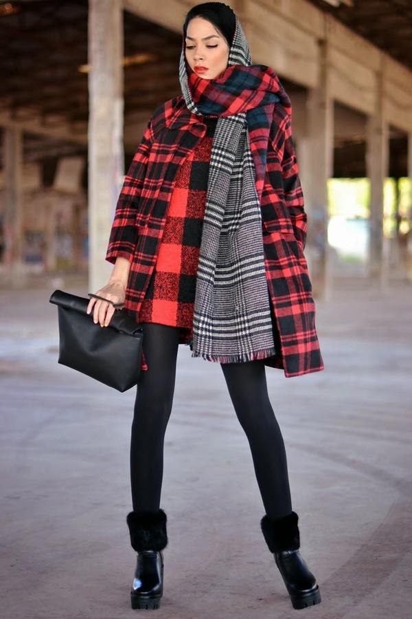 serial klother coat dress bag shoes scarf