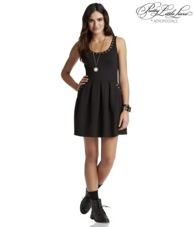 Pretty Little Liars Aria Studded Ponte Dress -