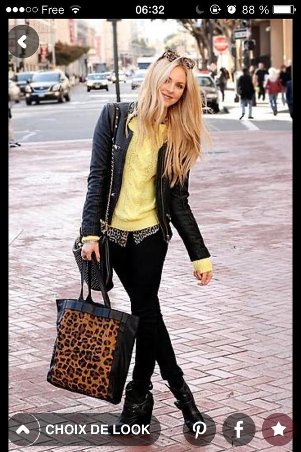 sweater yellow blonde hair fashion streetstyle streetstyle kaleidoscope