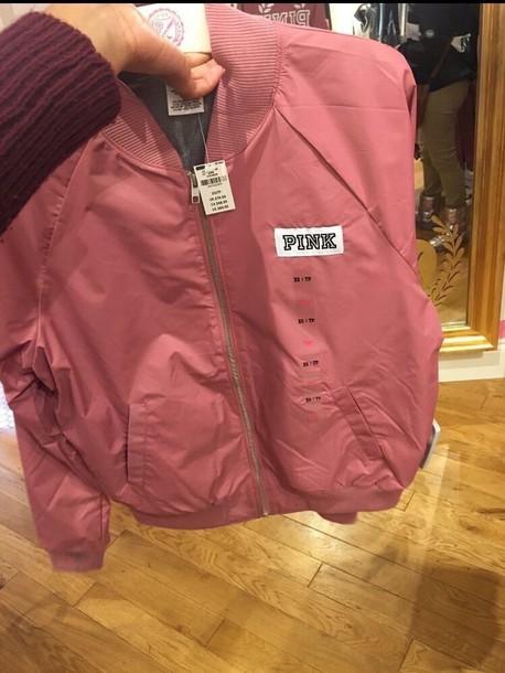 jacket pink by victorias secret pink