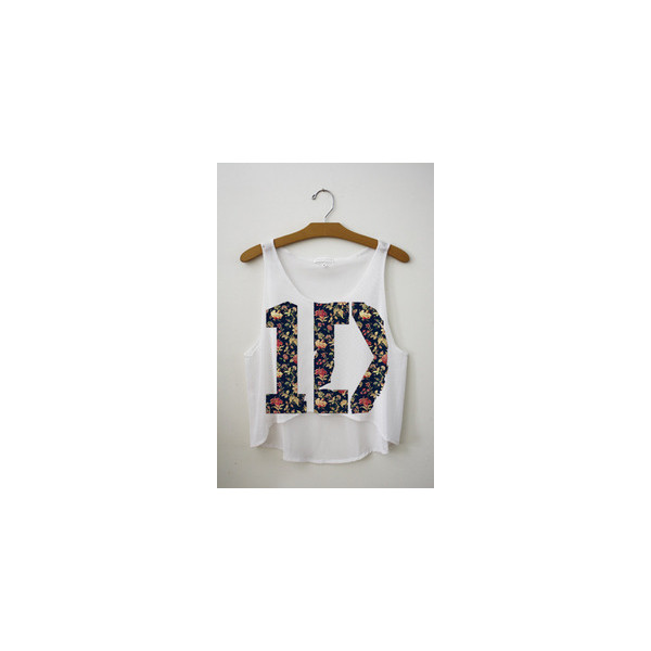 One Direction Crop Tops Philippines - Polyvore