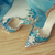 Handmade high quality Frozen Queen Elsa Cosplay 10 cm High Heels Women Pointed Toe Fancy Shoes Costume made size 35 39-in Pumps from Shoes on Aliexpress.com