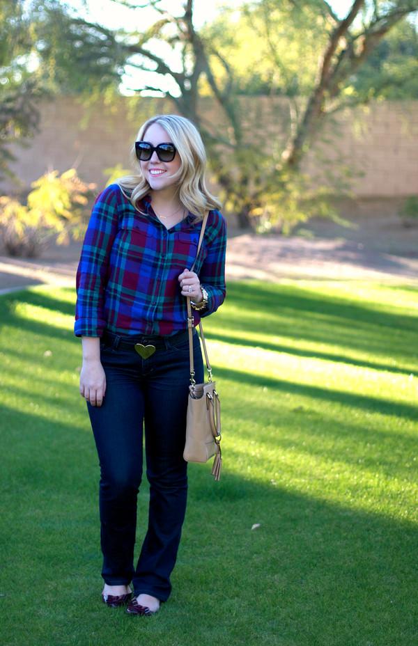 a beautiful heart t-shirt jeans belt shoes jewels bag sunglasses
