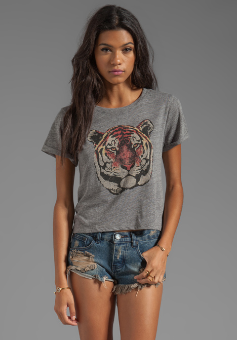 A FINE LINE Hastings Mascot Tee in Heather Grey at Revolve Clothing - Free Shipping!