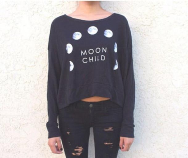 blouse moon shirt