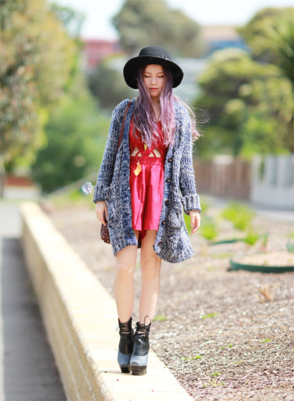 chloe ting sweater jewels hat shoes