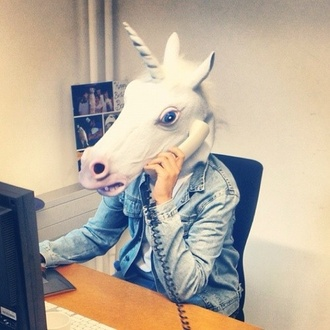mask unicorn unicorn hat unicorn head horse halloween halloween costume costume head fake trick treat cool party the office hat halloween accessory funny office outfits