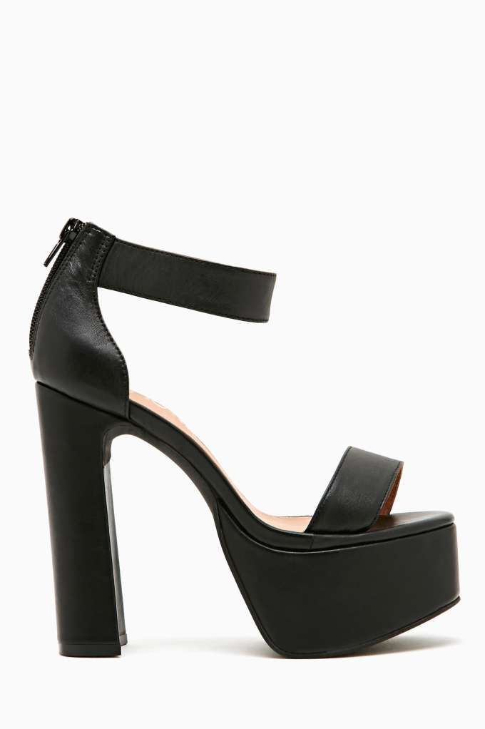 Jeffrey Campbell Alvie Platform  in  Shoes at Nasty Gal