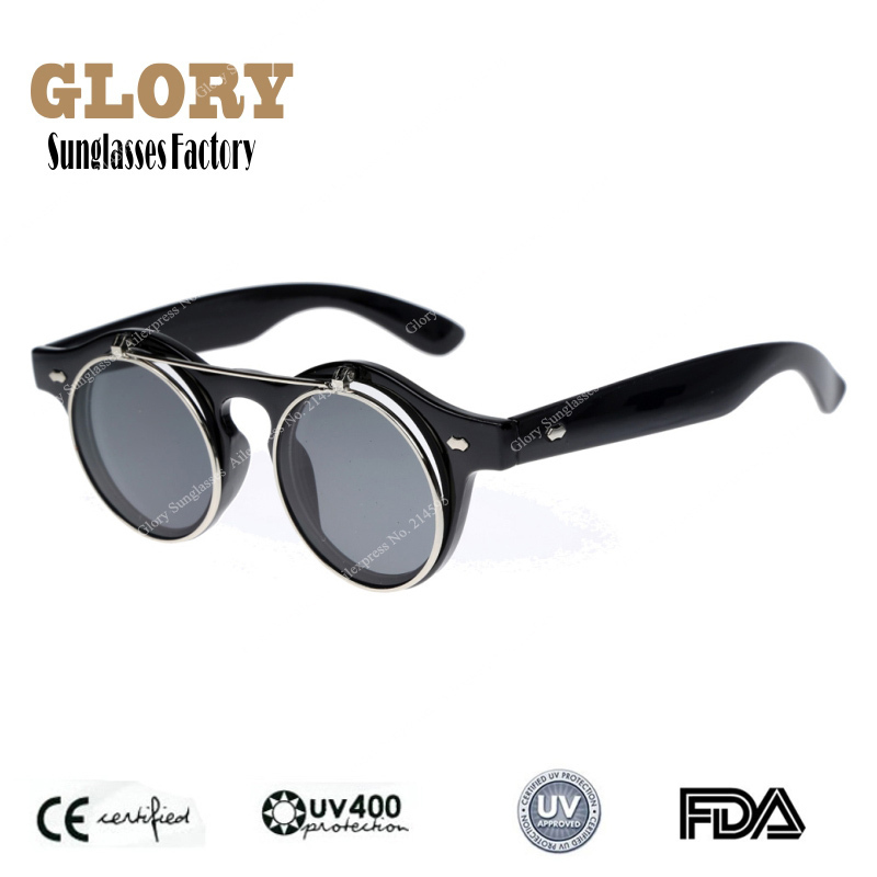 Aliexpress.com : Buy Free Shipping New 2014 Small Retro Oculos Men Women  Keyhole Steampunk Sunglasses Round Circle Flip Up Glasses from Reliable free shipping glasses suppliers on Glory  Sunglasses