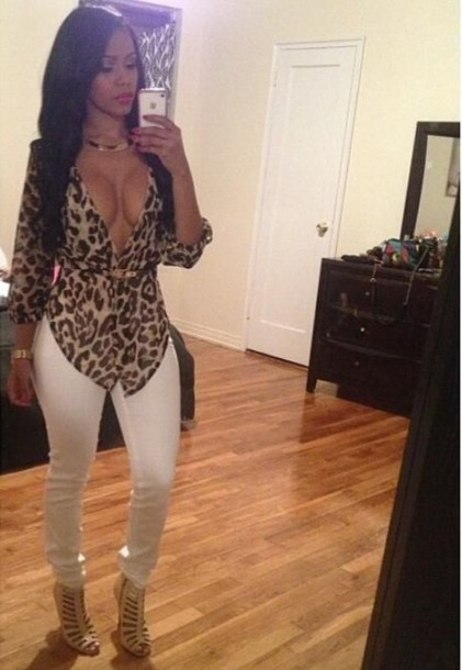 Blouse: cute, outfit, leopard print - Wheretoget