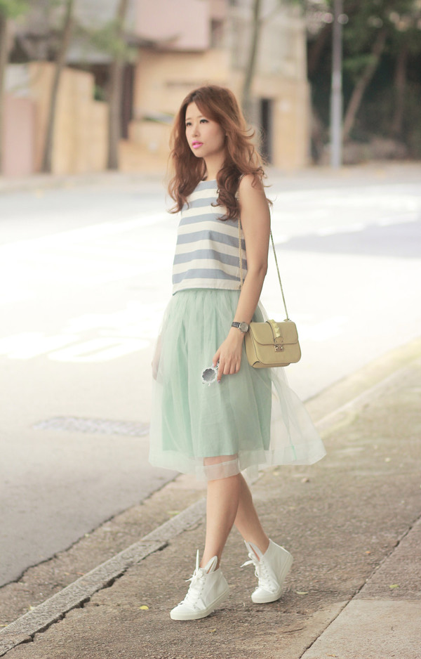mellow mayo sunglasses top skirt bag shoes shirt jewels belt hat jacket