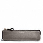 Coach :: BLEECKER LEGACY PENCIL CASE IN LEATHER