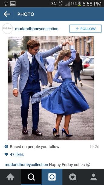 skirt blue skirt midi dress