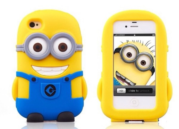 minions iphone cover jewels