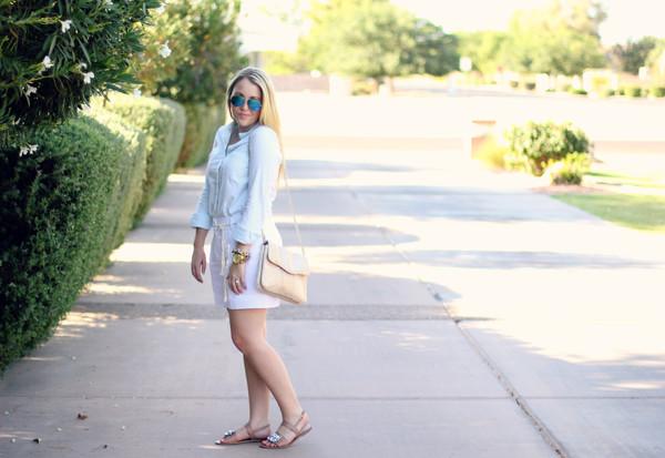a beautiful heart top shorts shoes bag sunglasses jewels