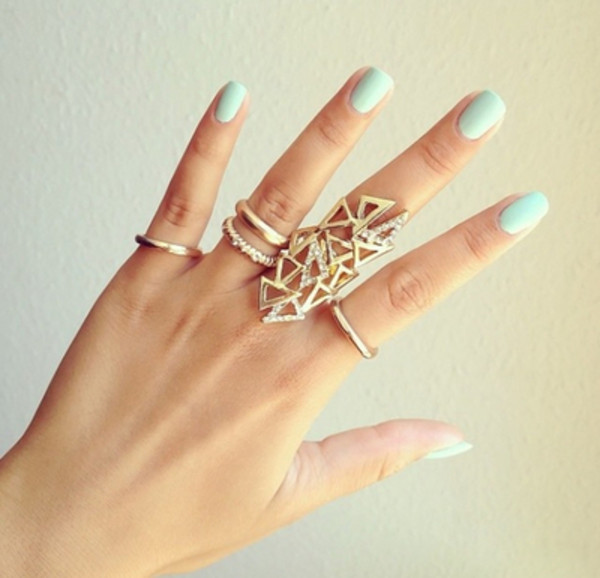 jewels gold ring