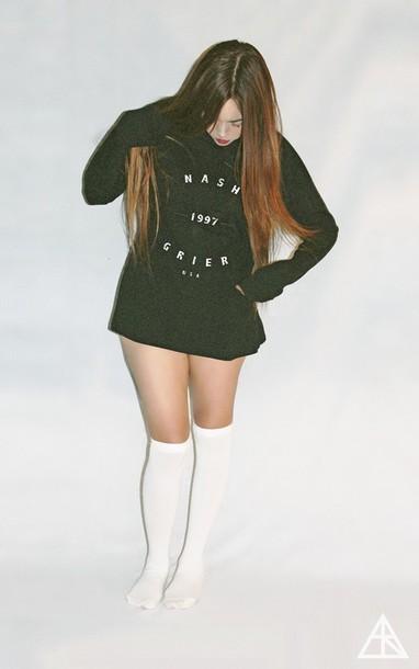sweater clothes vine youtuber youtuber nash grier socks