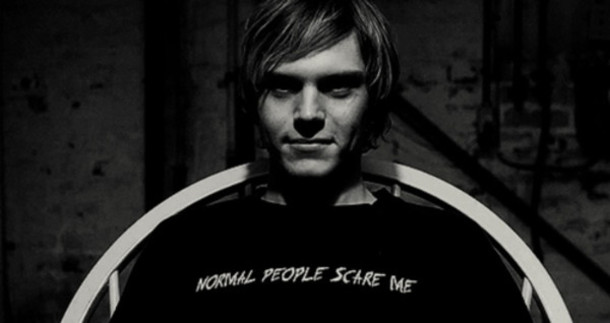 t-shirt t-shirt american horror story tate normal people scare me grunge