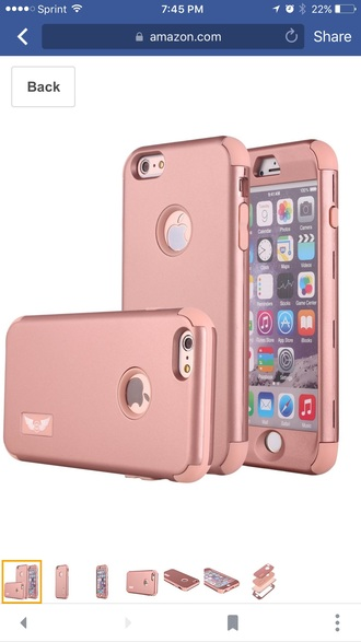 phone cover rose gold iphone 6s plus cover iphone case