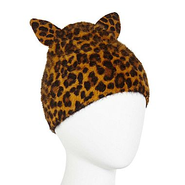 Angora Beanie with Ears - jcpenney