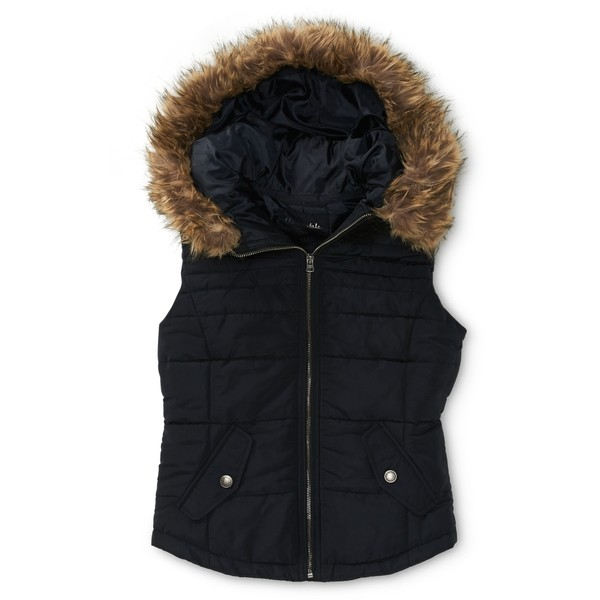 Aeropostale Hooded Puffer Sweater Vest - Aéropostale - Polyvore