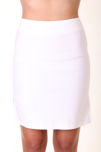 WHITE CLASSIC DESIGN FITTED PENCIL SKIRT FOR PROFESSIONAL LOOKS @ KiwiLook fashion on Wanelo