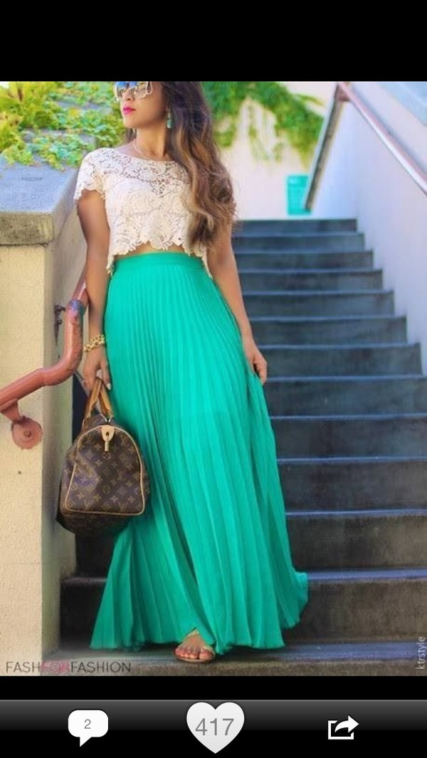 skirt maxi skirt fashion boho